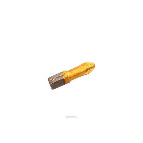 Бита Hammer Flex 203-122 PB PZ-1 25mm (2pcs)  TIN, 2шт.