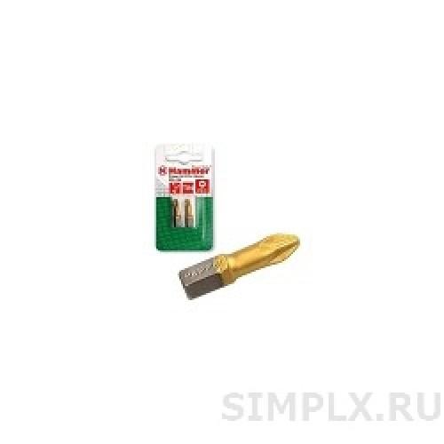 Бита Hammer Flex 203-127 PB PZ-3 25mm (2pcs)  TIN, 2шт.