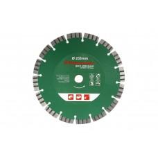 Диск алм. Hammer Flex 206-145 DB SG PROFF 230*22мм  сегментный ПРОФИ