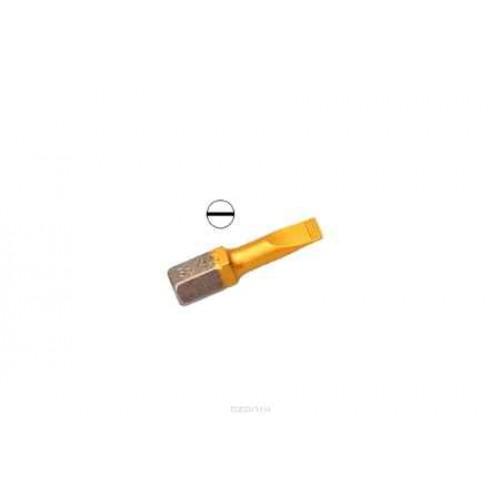Бита Hammer Flex 203-138 PB SL-0,6*4,5 25mm (2pcs)  TIN, 2шт.
