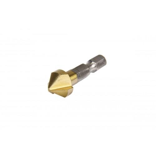 Зенкер HAMMER 228-001 DR CS 12.4 мм  металл DIN335 M2 HEX