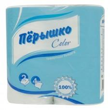 Бумага туалетная Перышко 4 шт.
