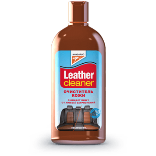 Очиститель кожи KANGAROO Leather Cleaner 300мл.