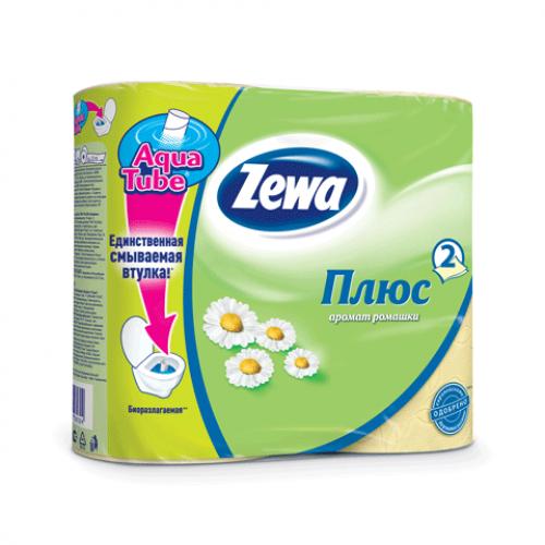 Бумага туалетная Zewa 4 шт.