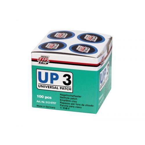 Латка универс Tip-Top UP3 (27 мм) уп. 100шт.
