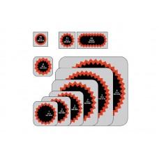 Латка  Tip-Top 0 (30 мм )в уп. 100 шт